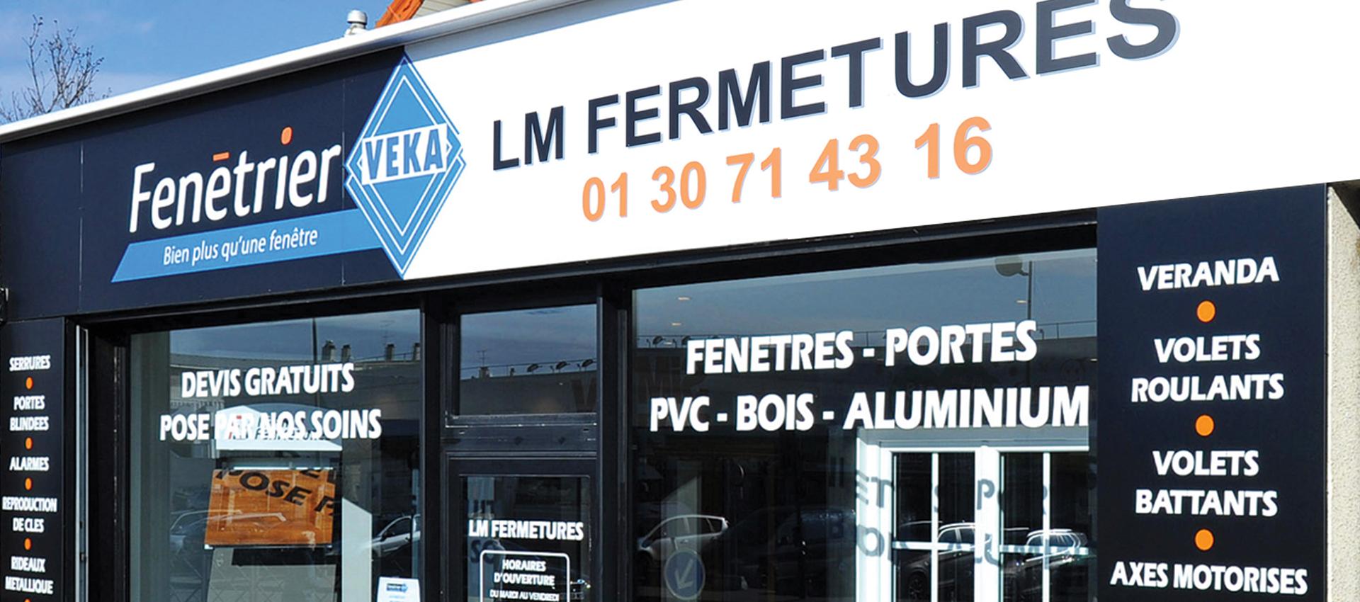 LM Fermetures sartrouville